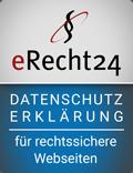 E-Recht24 Siegel